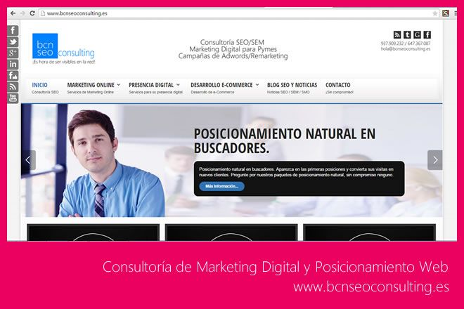 Proyecto Bcnseoconsulting.es